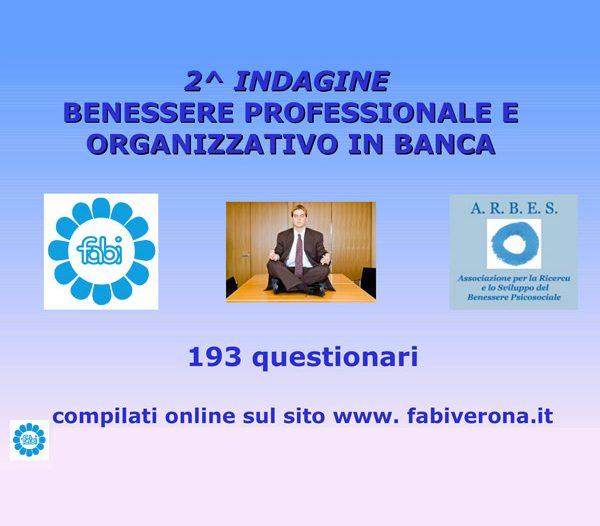 Slides risultati finali Ricerca Presentati al convegno 2014 sul benessere bancari Fabi